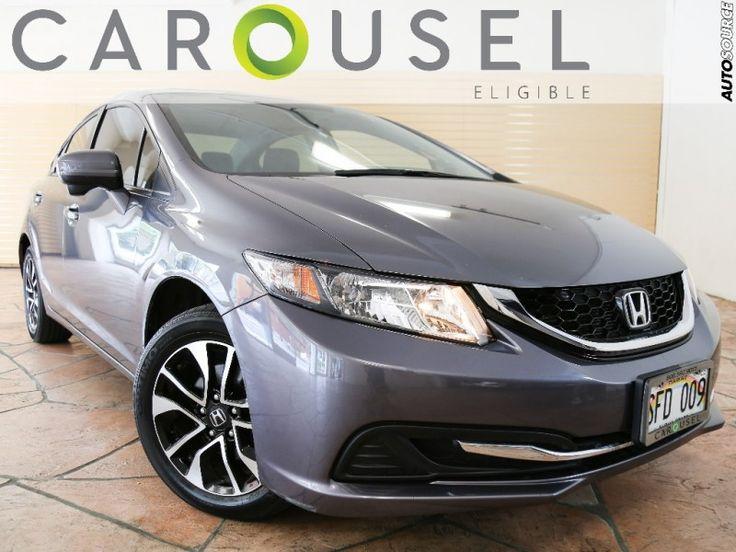 2014 Honda Civic EX $16995 http://www.autosourcehawaii.com/inventory/view/10018040