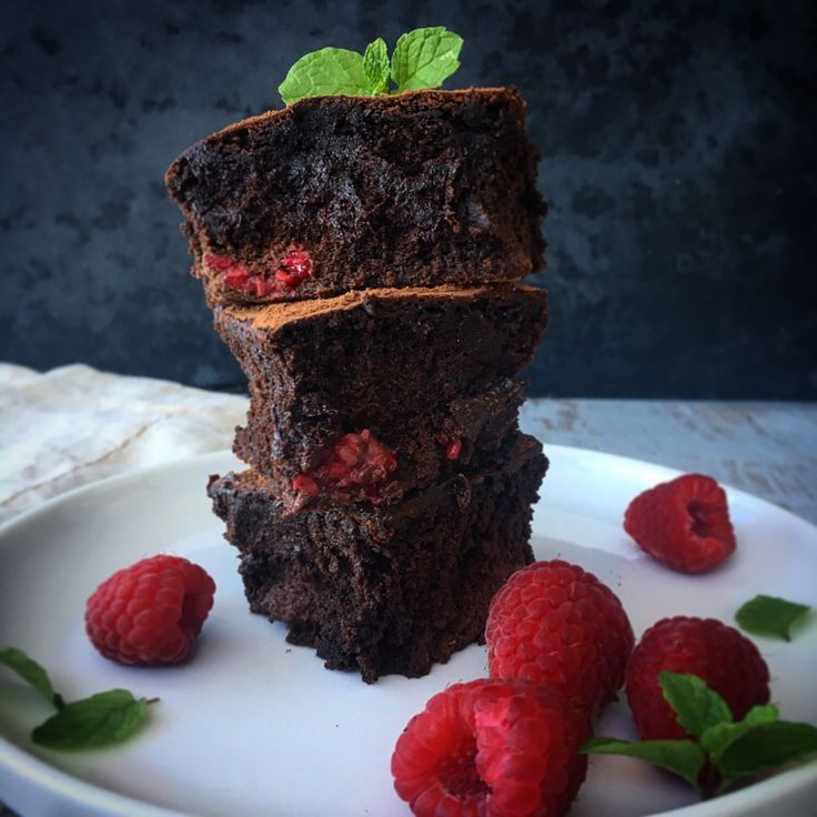 Flourless Fudgy Cacao Brownies Recipe