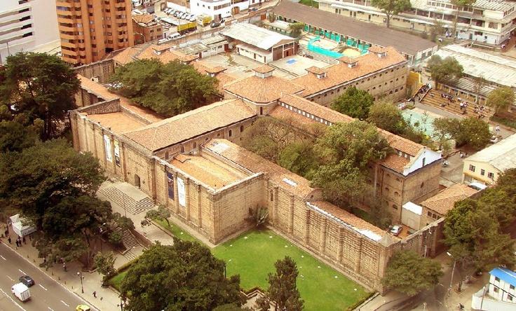 El museo naciónal de Bogotá.