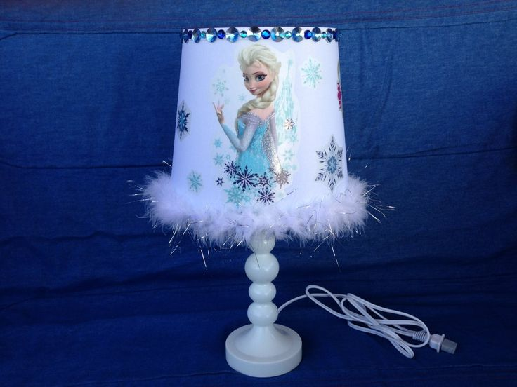 Disney Frozen Elsa and Anna Table Lamp  Awesome Lamp  Pinterest ...