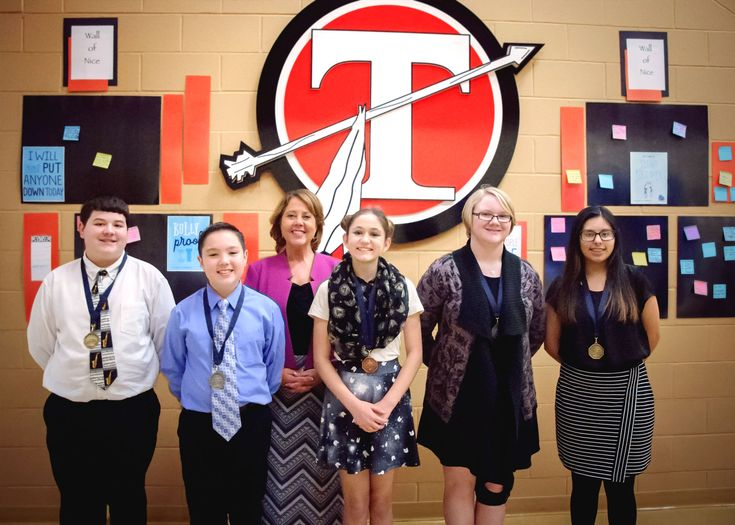 """At a time when the U.S. is fraught with negativity and pessimism, five Tecumseh students bucked the trend and lectured to a room of adults in the Tecumseh Middle School library on the topic """"What the World Gains from Optimism?"""" as part of the 2017 Optimist International Oratorical Contest. The local contest was held on Jan. 25."""