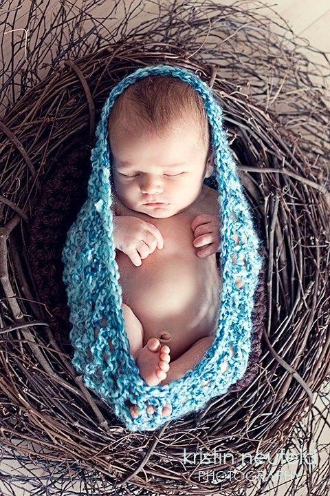 Crochet Baby Nesting Bowl