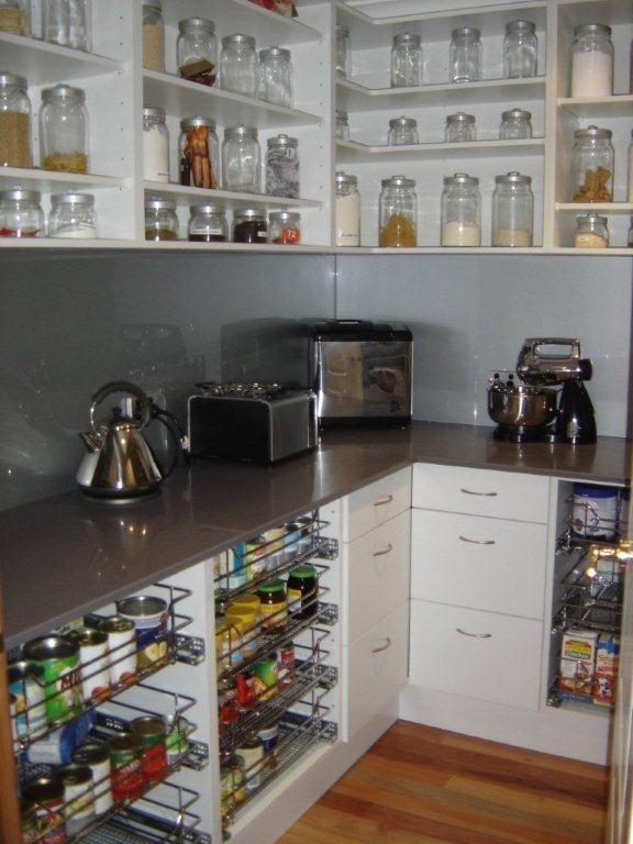 Best 25 walk in pantry ideas on pinterest hidden pantry for Walk in pantry cabinets