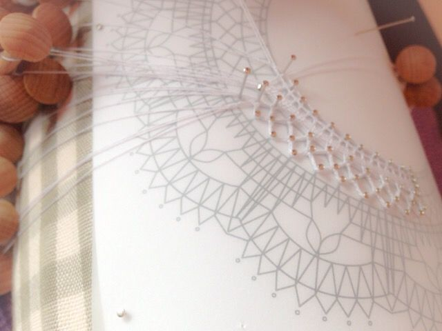 HALEさんが葉っぱができたら挑戦してみたい大きなデチカを試し編みしてくださいっています。HALEさんのジェティーゼックはものすごくきれい、実は秘密がありました。072/20170216