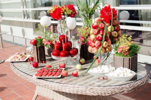 Медово-яблочная свадьба Вячеслава и Марии