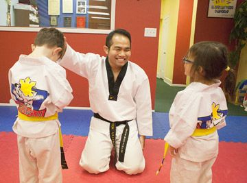 Parents flock to program offering character education and Taekwondo in Forest Park | News | Forest Park Review
