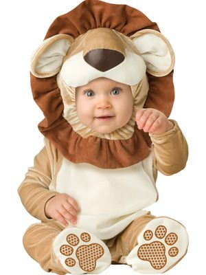 InCharacter Unisex-baby Infant Lovable Lion Costume Zippered one piece jumpsuit with snaps for easy diaper change and skid resistant fee Character hood ...  sc 1 st  Pinterest & 93 best Baby Costumes images on Pinterest | Children costumes Baby ...