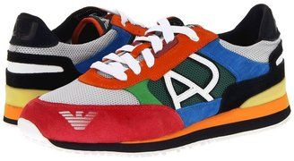 Armani Jeans - Low Top Trainer (Multi) - Footwear at ShopStyle