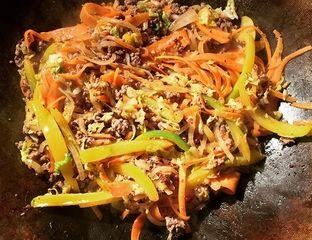 Hachis de bœuf au Wok pour ce boeuf sauté aux légumes  - #cuisine #recette #food