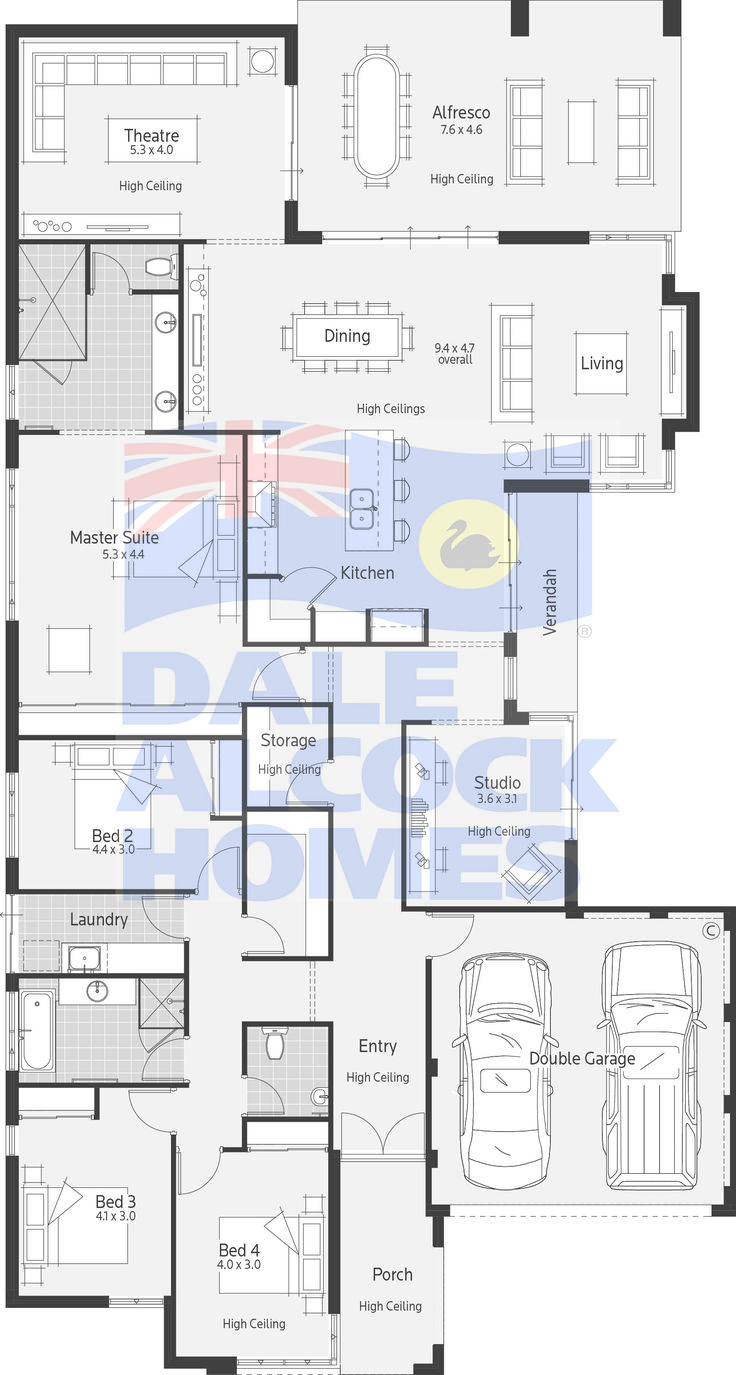 abbey road dale alcock homes - Large House Plans