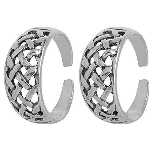 Sterling Silver Jewelry Toe Rings Pair Cute Anniversary Gift for Women Indian ShalinIndia http://www.amazon.in/dp/B00XU0NRWK/ref=cm_sw_r_pi_dp_Cincwb18V3RZF
