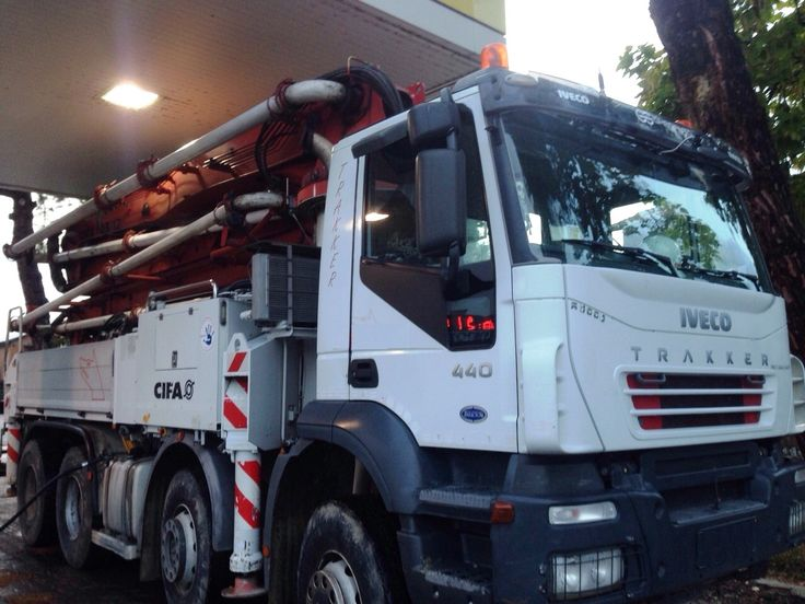 Iveco trakker with CIFA K35 year 2005 ready for sale