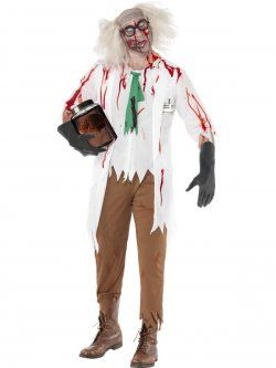 High School Horror Zombie Science Teacher Costume at funnfrolic.co.uk -£17.19