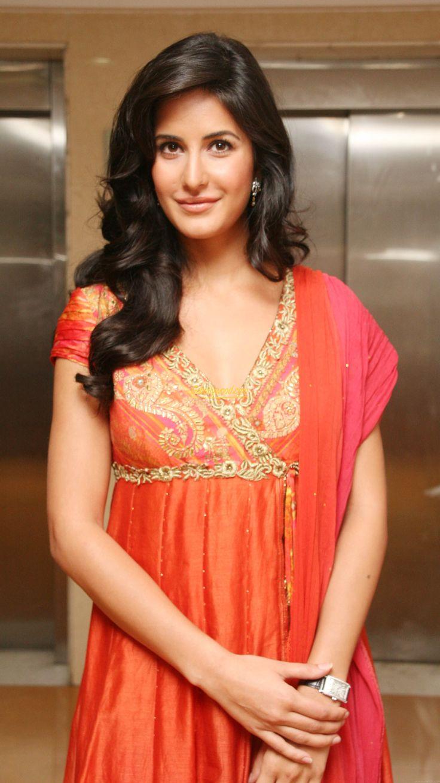 Katrina in red saree