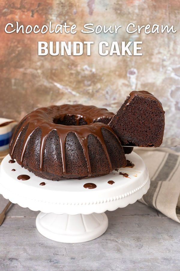 Chocolate Sour Cream Bundt Cake El Mundo Eats Recipe Sweet Recipes Desserts Bundt Cake Super Moist Chocolate Cake