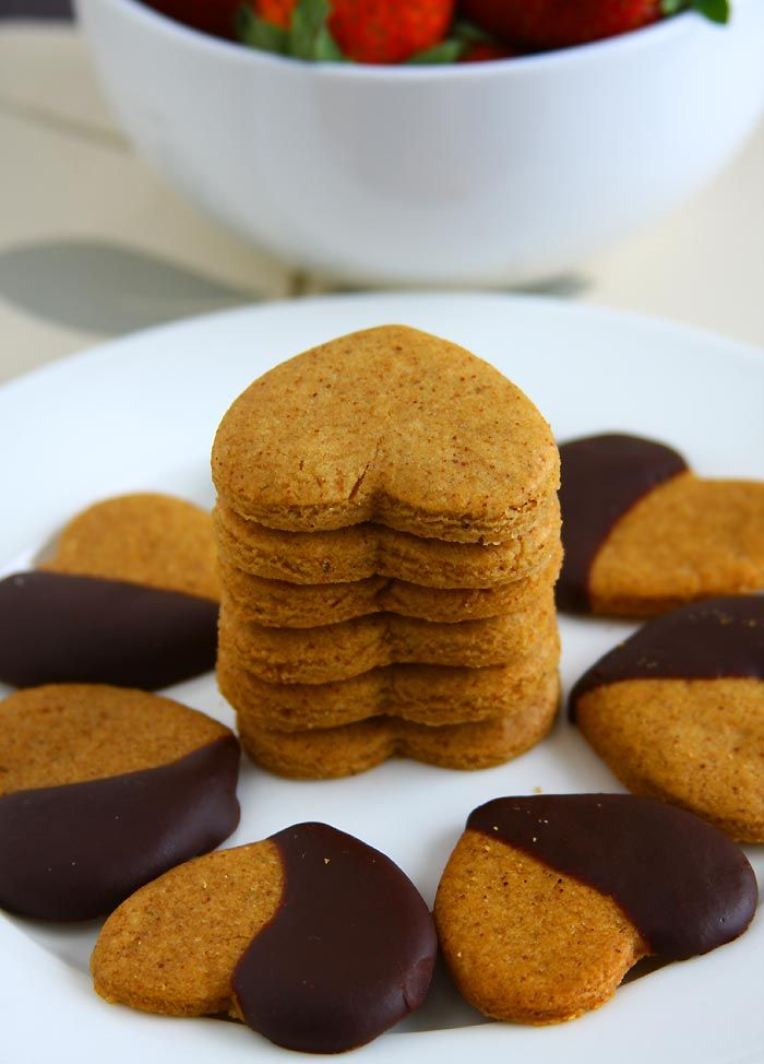 Almond Butter Cookies (Cutout) Recipe | Eggless Cooking