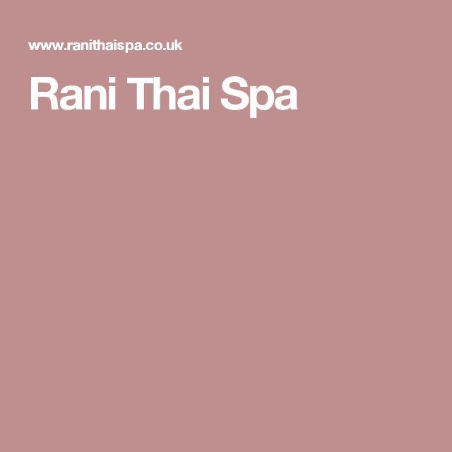 Rani Thai Spa