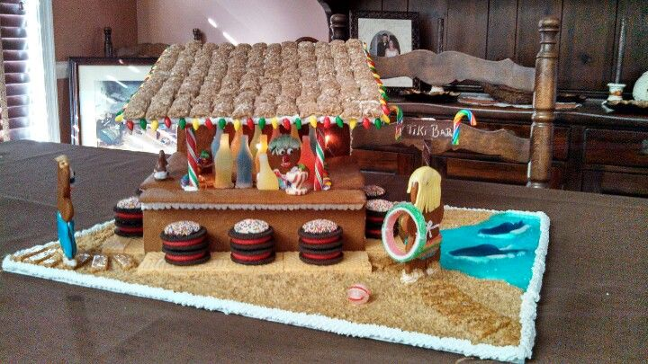 Gingerbread Tiki Bar....jb approved!!