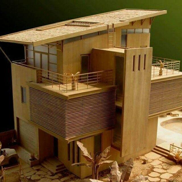 Maquete arquitetura