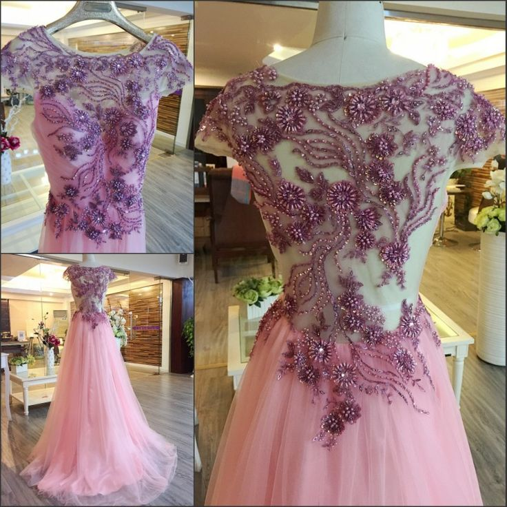 Cheap robe de soiree, Buy Quality dress custom made directly from China muslim evening gown Suppliers: 2017 New Beading Sequins Crystal  Pearls Evening Dress Custom Made Long Muslim  Evening Gowns robe de soiree GX24