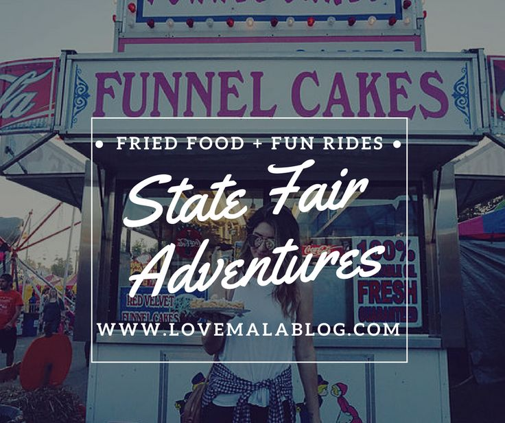 State Fair | Fair Food | Deep Fried | Fair Rides | State Fair Outfit | Lifestyle Blogger | Style Blogger | Outfit to Wear to the Fair | Adventure