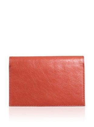 62% OFF Latico Women's Miles Passport Style Wallet, Poppy