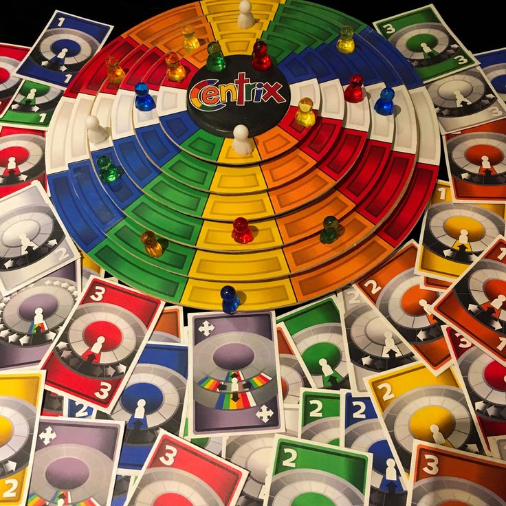 Centrix and new cards: Spin Climb, Jump Bump, a family friendly game