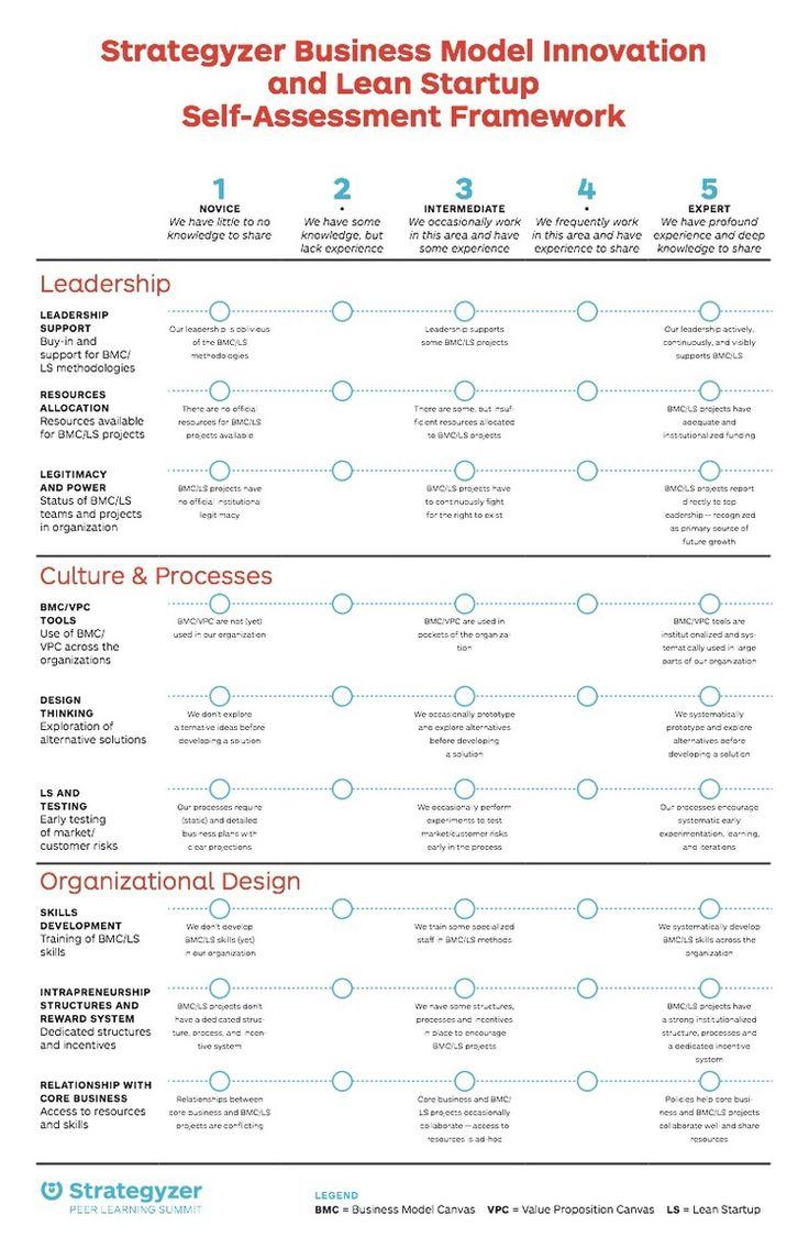Business Model Innovation and Lean Startup Self-Assessment Framework
