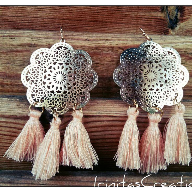 Boho chandelier earrings available in my shop