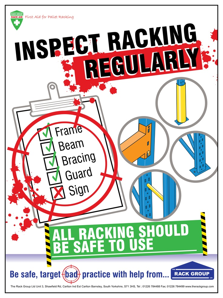 Do you inspect your racking regularly? if not, don't worry! We are here to help.