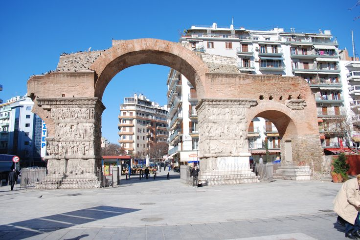 TRAVEL'IN GREECE I Arch of Galerius, Thessaloniki, Greece