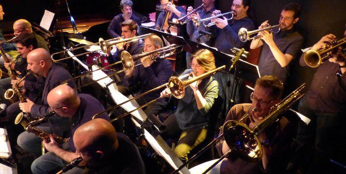 Grandes orquestas del Jazz BOB SANDS BIG BAND en Bogui Jazz