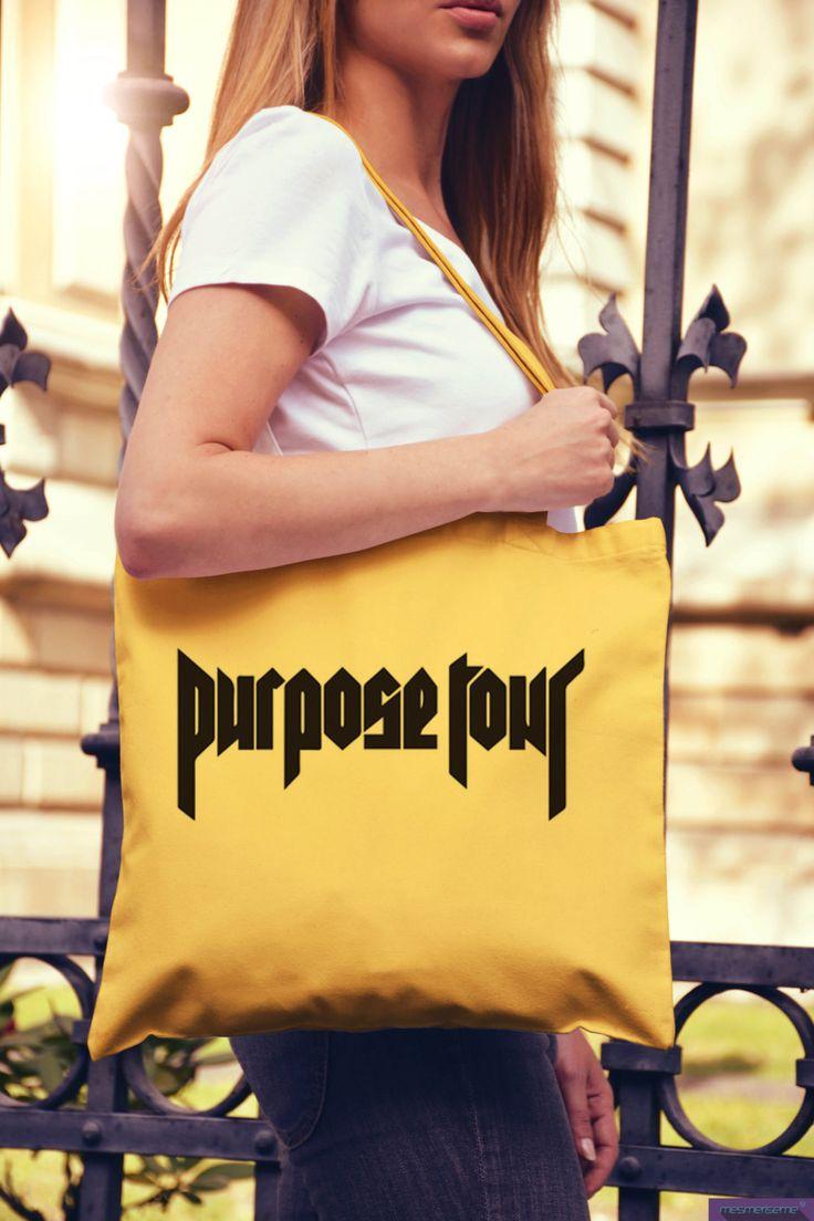 Purpose Tour Tote bag Fan Edition Staff di DaiquisCraftRoom su Etsy