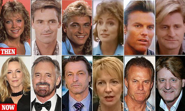 Where are the memorable faces of The Flying Doctors Today