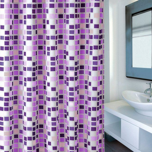Duschvorhang Premium Mosaico Violet Duschvorhang Duschvorhang