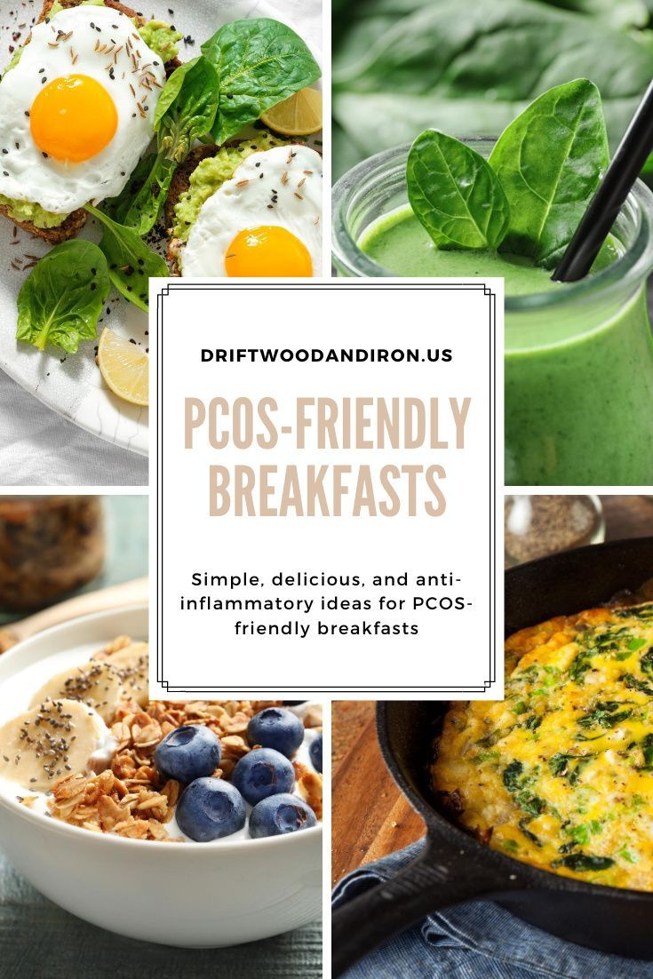 Pcos Friendly Breakfasts Pcos Recipes Anti Inflammatory Diet Recipes Pcos Diet Recipes