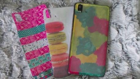 Personaliza tus carcasas de móvil DIY phone cases
