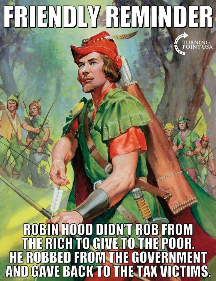 Amen to Robin Hood!!!!!