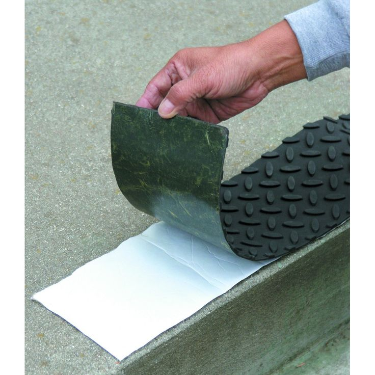 Self Adhesive Rubber Safety Mat With Tread Surface