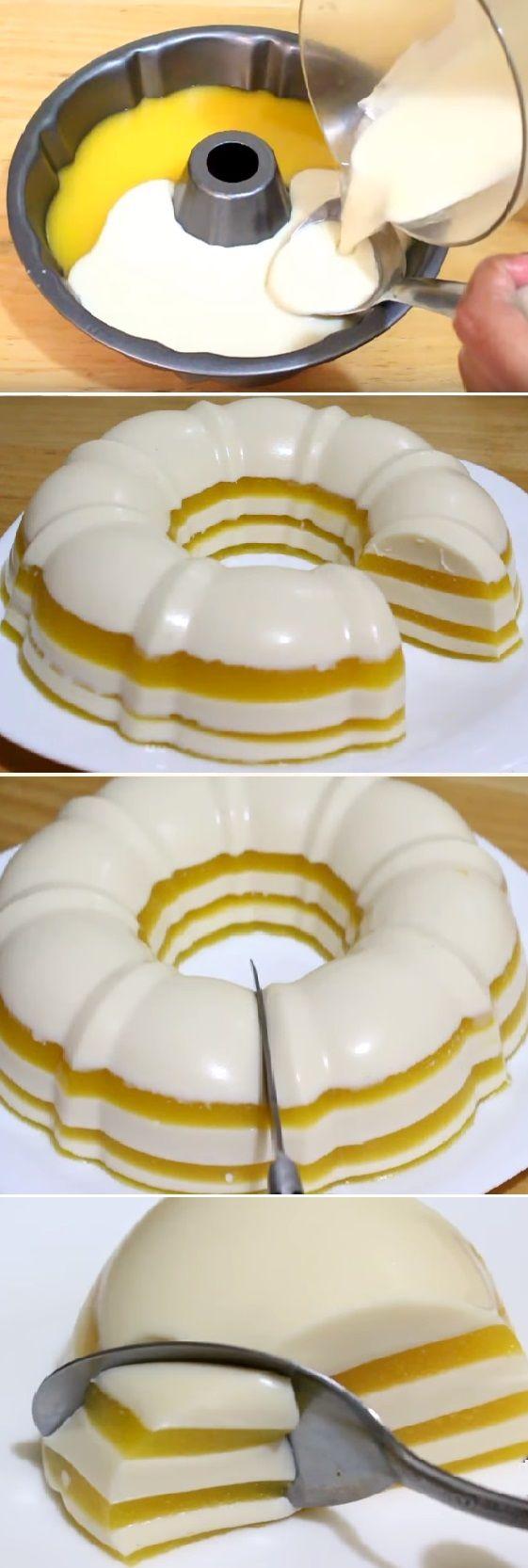 "GELATINA DE TRES LECHES Y DURAZNO "" By Alejandra de Nava. #gelatina #tresleches #durazno #gelato #flan #postres #cheesecake #cakes #pan #panfrances #panettone #panes #pantone #pan #recetas #recipe #casero #torta #tartas #pastel #nestlecocina #bizcocho #bizcochuelo #tasty #cocina #chocolate Si te gusta dinos HOLA y dale a Me Gusta MIREN..."
