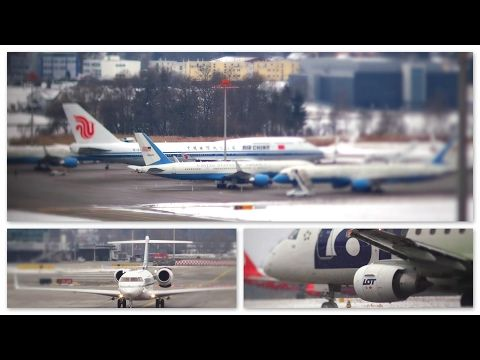 Planespotting with ( WEF Traffic 2017 ) @ Zurich Kloten ZRH 17./18.01.2017 part 5 - YouTube