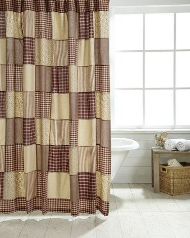 Best 25 primitive bathroom decor ideas on pinterest primitive bathrooms primitive decor and for Country style bathroom shower curtains