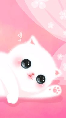 Cute Pink Cell Phone Wallpaper Pin By Iris Resplandes On Cats ♡ Melody Pinterest