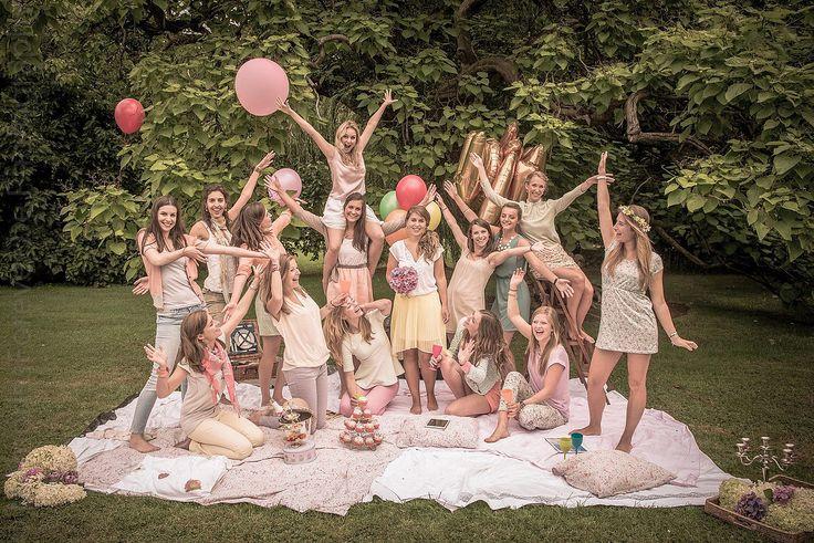 Bachelorette fotoshoot en workshops