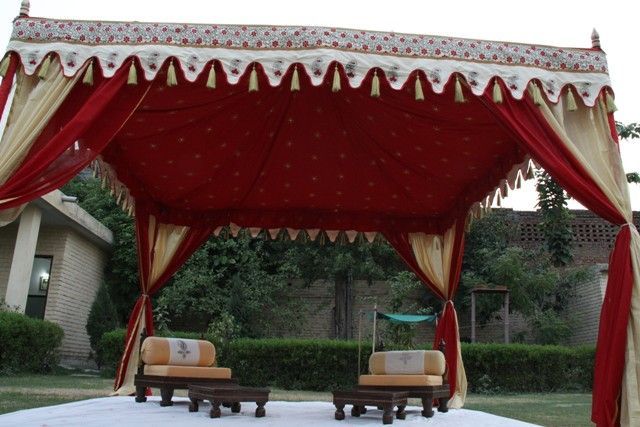 Beautiful Tents from India by Sangeeta International