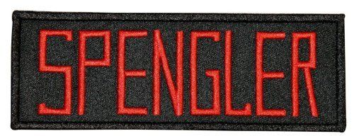 Commemorate your favorite cult classic with an awesome Ghostbusters Movie SPENGLER Uniform Name Chest Patch . Free shipping on Ghostbusters orders over $50. #valentinesday