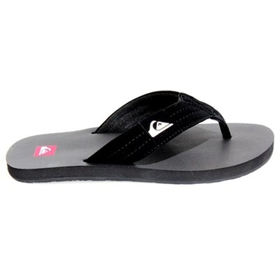 Chinelo Quiksilver Foundation-R$75.00