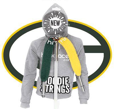 Green Bay Packers Hoodie StringsHoodlaces.com