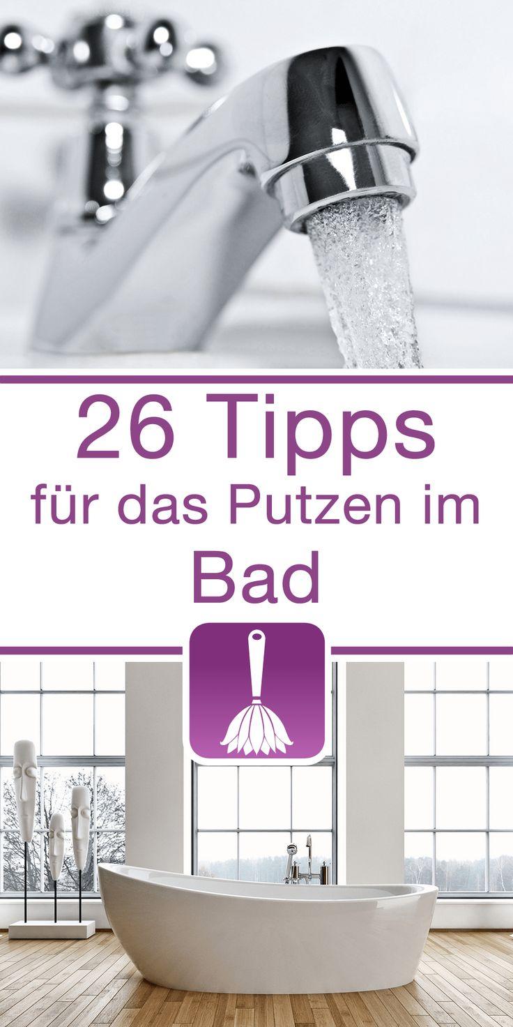 26 Tipps & Tricks für das Putzen im Bad Ute Otto