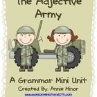 Is you class ready for training camp?? If so then The Adjective Army Mini Unit is for your class.  This mini-unit is correlated withthe  following ...